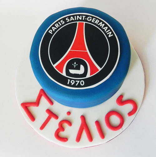 Paris Saint Germain Make My Cake